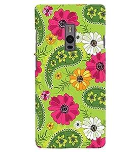 Citydreamz Floral Design Hard Polycarbonate Designer Back Case Cover For OnePlus 2