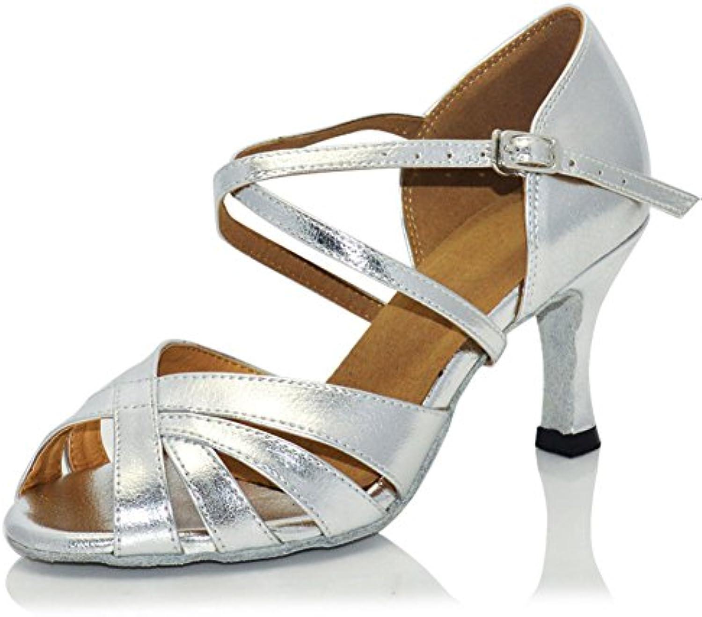 WYMNAME WYMNAME WYMNAME donna Scarpe da Ballo Latino,Scarpe da Danza Moderna Scarpe da Ballo Quadrato Medio Heels Sandalo Scarpe... | marchio  | Maschio/Ragazze Scarpa  1571a5