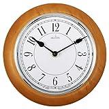 Acctim 24581 Newton, Orologio da Parete, Legno Chiaro