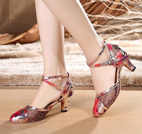 TDA - Sandali con Zeppa donna 5cm Heel Pink