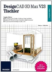 DesignCAD 3D Max V23 Tischler