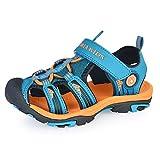 Gloria JR Kinder Outdoor Athletic Sandale F¨¹r Jungen Kinder (36 EU (3 UK =23 CM), Dunkelblau(Dark Blue))