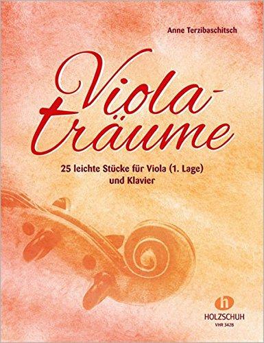 Violaträume - 25 leichte Stücke für Viola (1. Lage) und Klavier