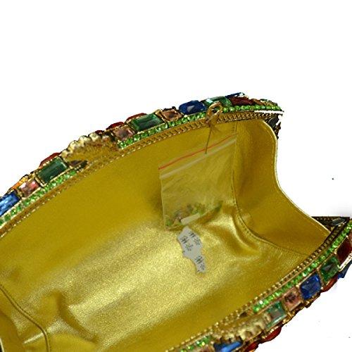 LAIDAYE Frau Diamant Hand Handgemachte Abendtaschen 2