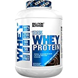 Evlution Nutrition 100% Whey Protein, 25g of Whey Protein, 6g of BCAA's, 5g of Glutamine, Gluten Free (Double Rich Chocolate, 1.82 kg)