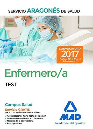 Portada del libro Enfermero/a del Servicio Aragonés de Salud. Test