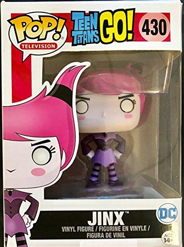 Funko - Figurine DC Heroes Teen Titans Go - Jinx Exclu Pop 10cm - 0889698118095