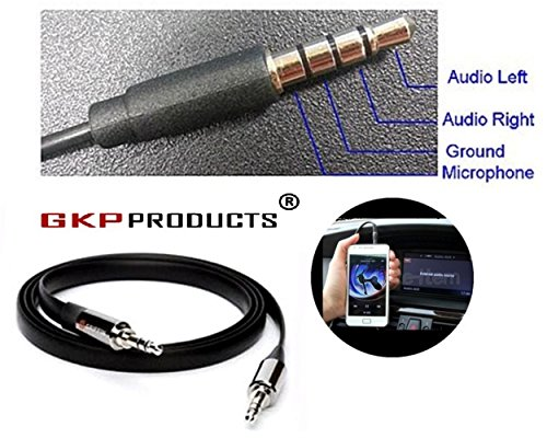 GKP Products ® premium 3.5mm AUX/Braided /2 Meter Audio cable