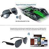 DMA Wireless Stereo Bluetooth Ultra k3-a V4.1Pilot Luftfahrt Sonnenbrille mit Musik Hören und Hands-Free Anrufe Empfänger Perfekt für iOS Android Windows Mobile Handys und Bluetooth-Geräte