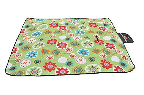upancamp Outdoor Camping Picknick Decke Größe Fleece Wasserdicht Tragbar Matte - Hitze-beweis-matte