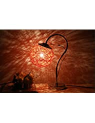 Lámpara de escritorio de estilo moderno minimalista lámpara de noche dormitorio , orange