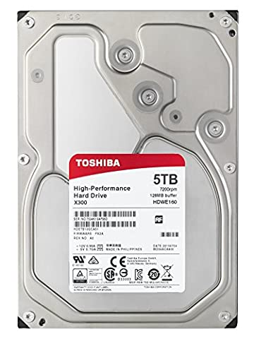 Toshiba X300 5 To Disques internes (8,9 cm (3,5