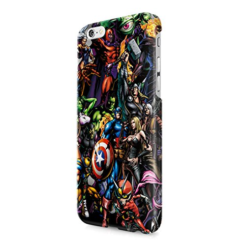 The Avengers Superheroes Assemble Hard Snap-On Protective Case Cover For Iphone 6 / Iphone 6S