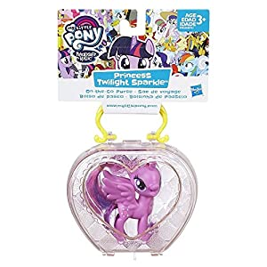 Hasbro My Little Pony Princess Twilight Sparkle Chica 1pieza(s) - Kits de Figuras de Juguete para niños (3 año(s), Chica,, Animales, My Little Pony, Caja con Ventana)