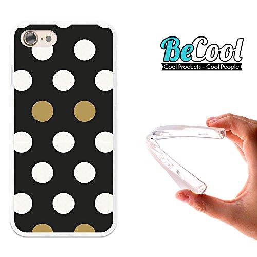 BeCool®- Coque Etui Housse en GEL Flex Silicone TPU Iphone 8, Carcasse TPU fabriquée avec la meilleure Silicone, protège et s'adapte a la perfection a ton Smartphone et avec notre design exclusif. You D1089