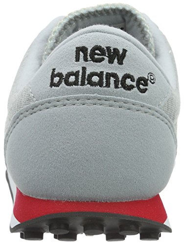 New Balance U410, Baskets Basses Mixte Adulte Blanc (White/Red/Black)