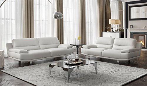 Leder Sofa Couch 2-Sitzer Designer Polstergarnitur Sitzgruppe Couchgarnitur - 6