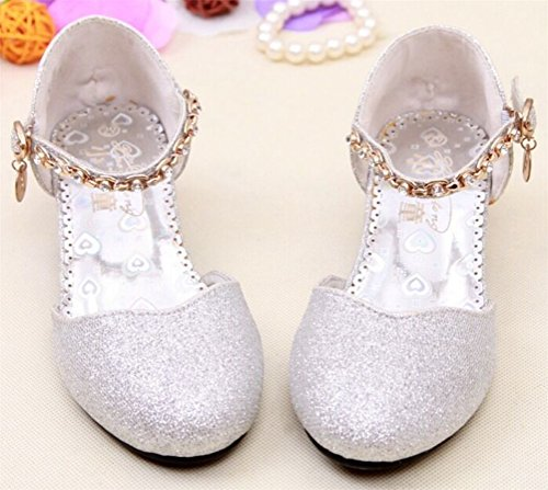 SMITHROAD Kinder Mädchen Prinzessin Schuhe Tanzschuhe PU