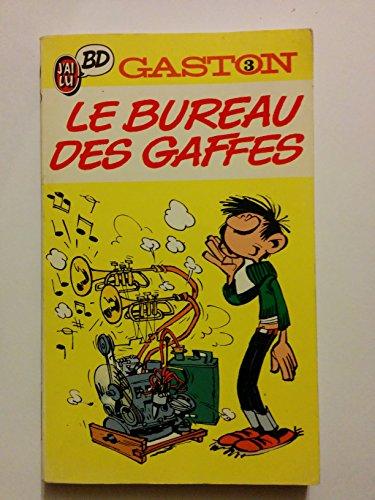 GASTON . LE BUREAU DES GAFFES EN GROS