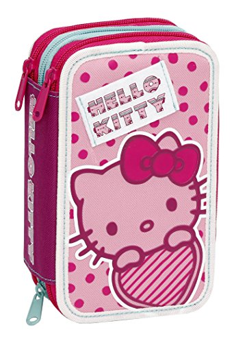 Giochi Preziosi - Hello Kitty Estuche con colores triples, marcadores