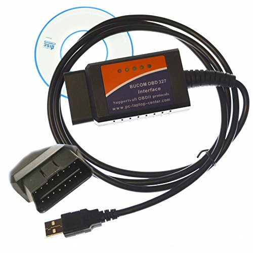 Auto USB Kabel Version 1.5 OBD II OBD2 Kfz Diagnose Interface Gerät für Opel Audi BMW Mercedes Mazda Honda VW Golf Fiat Nissan Ford Car Truck Cable
