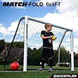 QUICKPLAY Match Klapp-Fußballtor 1.8 x 1.2m