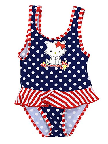 Hello Kitty Official Baby-Girls Swimsuit 18 Months Blue
