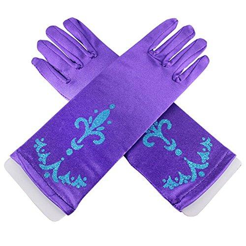 lifenewbaby Handschuhe für Damen, ideal für eine Party / einen Ball, Satin-Handschuhe, perfekt zum...