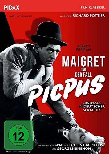 Bild von Maigret und der Fall Picpus (Picpus) / Spannender Maigret-Krimi nach einem Roman von Georges Simenon (Pidax Film-Klassiker)