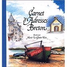 Carnet d'adresses breton