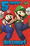Super Mario 5. Geburtstagskarte