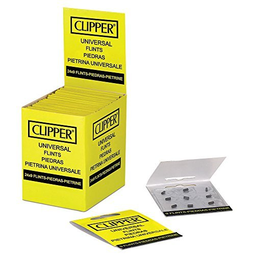9 Stk. Clipper® Feuerzeug Zündsteine