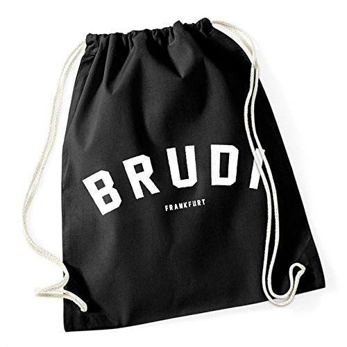 Certified Freak Brudi Frankfurt Gymsack Black