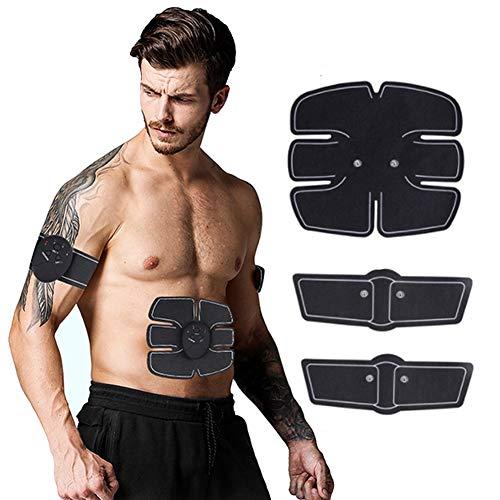 Electroestimulador Muscular EMS, Carga USB Inteligente Inicio Músculos Abdominales Abdominales Entrenamiento...