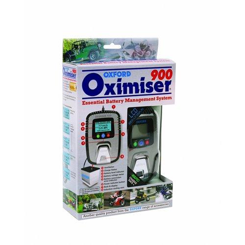 Oxford Oximiser 900 - Ottimizzatore da motocicletta per batterie 12V
