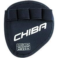 Chiba Handschuhe Grippad - Guantes para fitness, color negro, talla L/XL