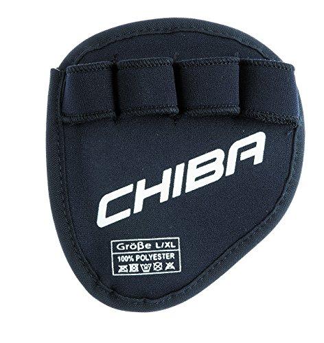 Chiba Handschuh Grippad Schwarz, S/M