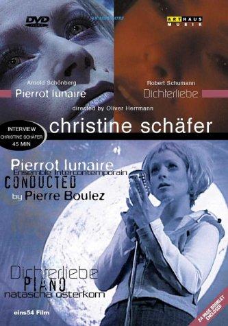 Bild von Christine Schäfer in... Robert Schumann: Dichterliebe & Arnold Schönberg: Pierrot Lunaire