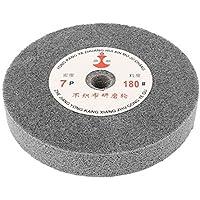 DealMux 150 mm Diámetro 25 mm de espesor de 180 granos de fibra de nylon de la rueda de pulido para pulir discos