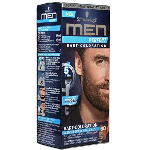 Schwarzkopf MEN Perfect BART-COLORATION Beard Color Bartfarbe NATUR BRAUN NEU