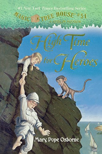 High Time For Heroes (Turtleback School & Library Binding Edition) (Stepping Stone Books) by Mary Pope Osborne (2016-01-05) par Mary Pope Osborne