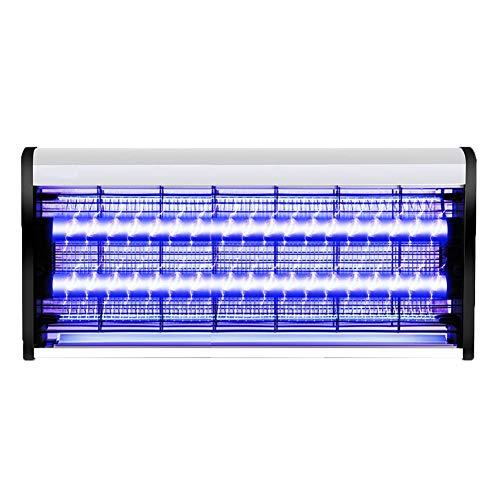 WUZMING-Moskito-Lampen LED-Lichtquelle Körperlich Elektrischer Schock Energie Sparen Suspension Stumm Schlafzimmer Töte Die Fliegen 4 Größen (Color : Silver, Size : 65x5.5x26cm) -