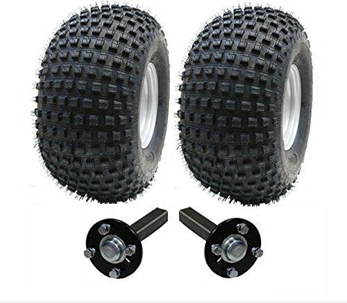 ATV-Anhänger-Kit - Quad-Anhänger -Wanda Räder + SteelPress Produktions-Hub / Stub (keine Kupplung), 310kg 22x11-8 (22 10 11 Atv Reifen)