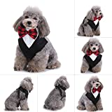 Hund Katze Fliege Pet Krawatte Halsband Bandana Fliege Kabelbinder Speichel Handtücher Halstuch verspielt Stil Kleidung