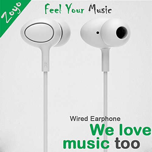 Zoyo™ Stereo Earphone with mic / Headphones with mic/ Hands-Free 3.5Mm Jack In-Ear Super Extra Bass Headphone Headset With Mic Compatible with Samsung, Motorola, Sony, Oneplus, HTC, Lenovo, Nokia, Asus, Lg,Oppo,Vivo, Coolpad, Xiaomi, Micromax and All Mobil es  available at amazon for Rs.111
