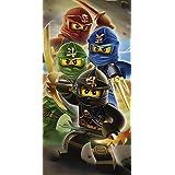 LEGO Ninjago cuadrante guerreros algodón playa toalla de baño