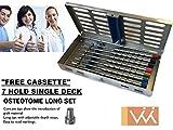 Wise Instruments Inc Gestión de hueso/Osteotomes cóncava recta puntas cada uno tiene marcas de profundidad en 8-10 - 13-15 - 18Mm