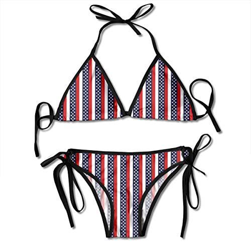 d08e22fc874a Funny&shirt Artsy Sexy Boxing Bikini Women Halterneck Top Set Swimsuits  Beach Swimming