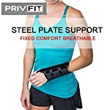 Privfit Wrist Support with Detachable Metal Plate for Arthritis Carpal Tunnel Tendonitis Wrist