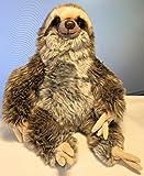 Faultier Sloth sitzend 26 cm mit Granulat Plüschtier Kuscheltier